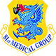 Logo: 81st Medical Group - Keesler Air Force Base